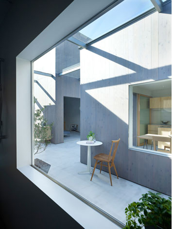 Modern Neo Siheyuan housein buzen 9 Modern Neo Siheyuan Inspired Home in Japan