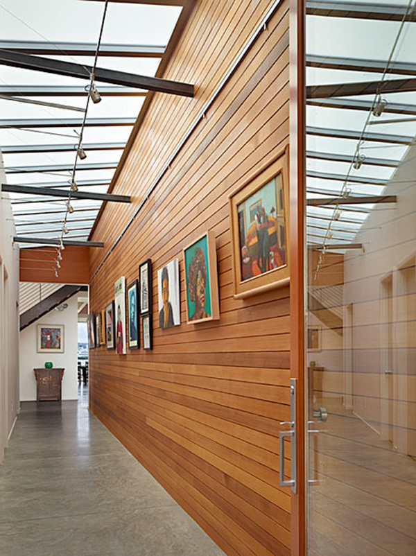 Wingpoint home 12 Riverfront Home for Artists : The Incredible Wingpoint Residence