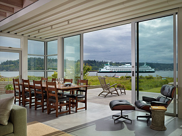 Wingpoint home 7 Riverfront Home for Artists : The Incredible Wingpoint Residence