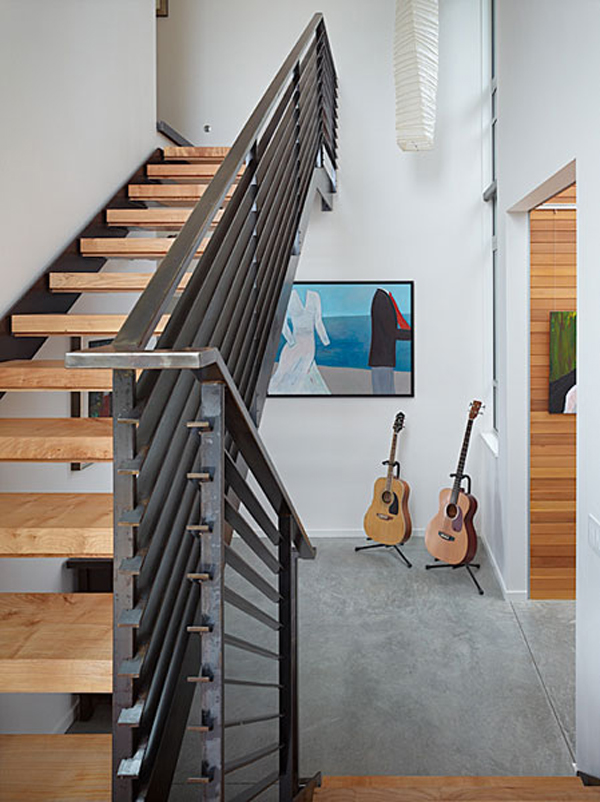 Wingpoint home 9 Riverfront Home for Artists : The Incredible Wingpoint Residence