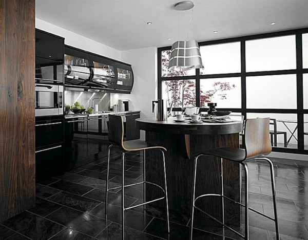 how to use sleek black in your home decor | freshome