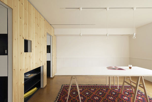 dSwitch by Yuko Shibata 6 Ingenious and Highly Practical Mobile Wall Addition for Small Apartments