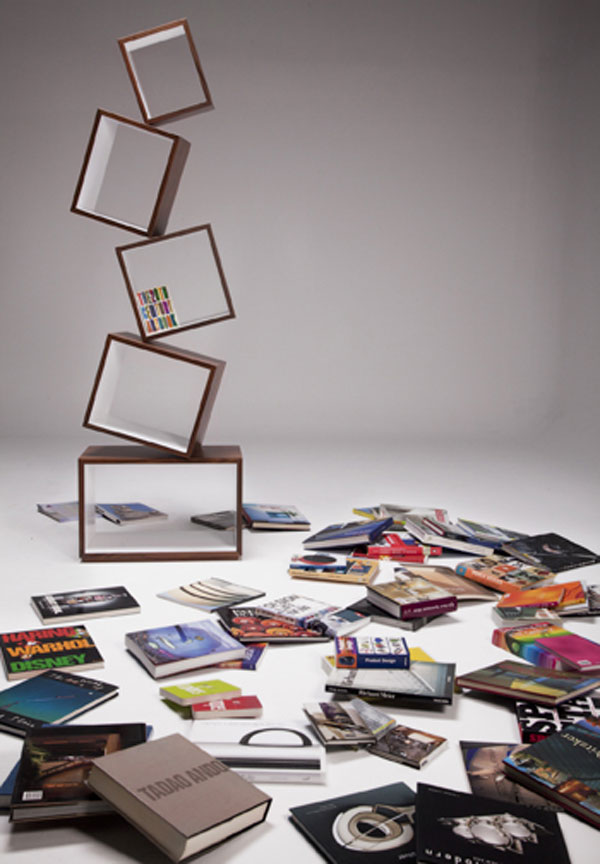 equilibrium 251010 04 A Bookcase Defying Gravity: Equilibrium by Malagana Design
