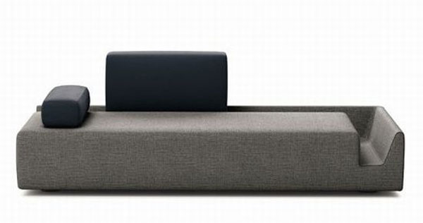 fossa sofa 01 3taC1 24429 Elegant Contemporary Sofa with Detachable Back Rests