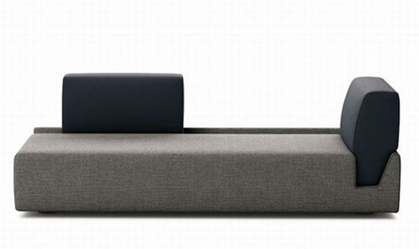 fossa sofa 03 r51Ag 24429 Elegant Contemporary Sofa with Detachable Back Rests