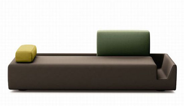 fossa sofa 05 5iJMU 24429 Elegant Contemporary Sofa with Detachable Back Rests