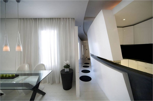 futuristic apartment21 Thinking Outside the Square: The Ruiz Maasburg Penthouse in Madrid