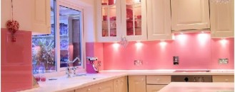 How to Cure Your Boring Kitchen with Pink