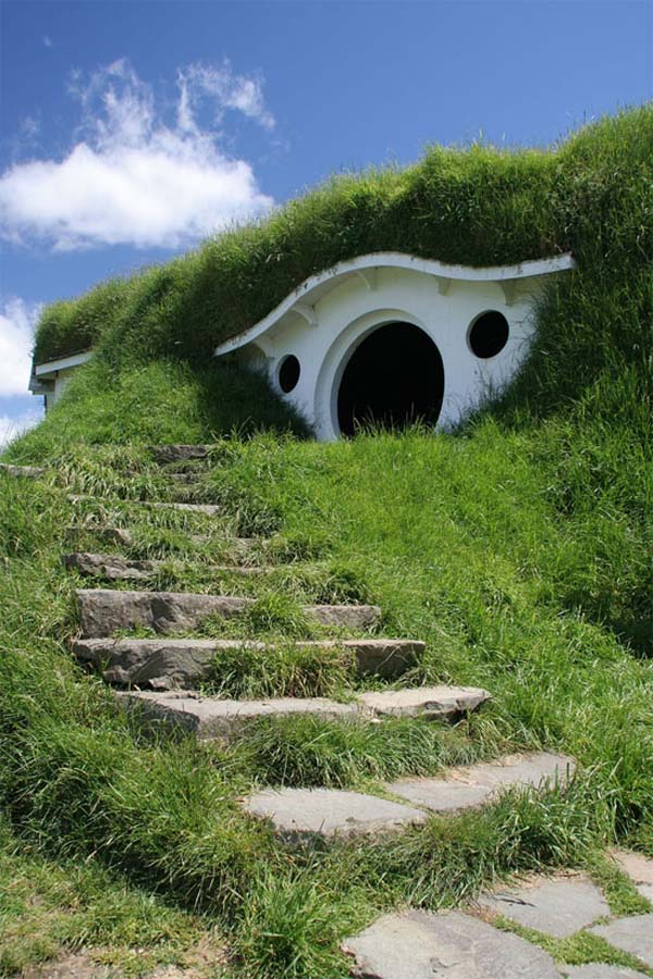 sheep house Cute Lord of the Rings Hobbit Houses in New Zealand