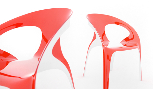 1.2 Vivid and Colorful Stacking Chair Design: Juicy by Angelo Tomaiuolo