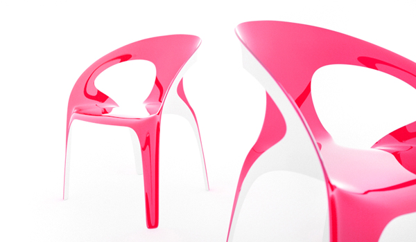 1.3 Vivid and Colorful Stacking Chair Design: Juicy by Angelo Tomaiuolo