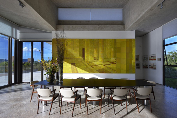 Casa JE by Humberto Hermeto 16 Magnificent Artistic Home with an Art Gallery in Brasil