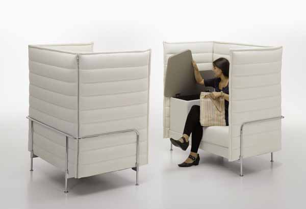 CitizenOffice Alcove Sofa1 Citizen Office, a Concept Reinventing a Common Day at the Desk