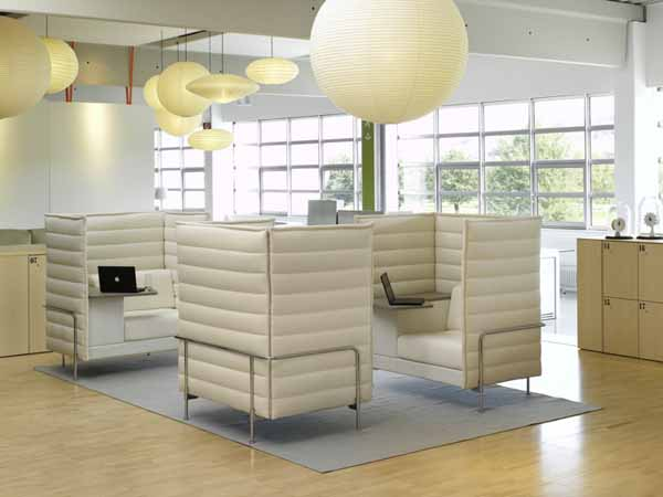Citizen Office AlcoveSofa1 Citizen Office, a Concept Reinventing a Common Day at the Desk