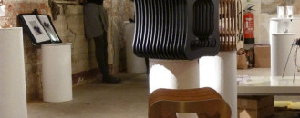 Diviso Stool, Intriguing Combination of Form and Function