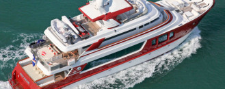 A More Dynamic Form of Design: Red Pearl by MCP Yachts
