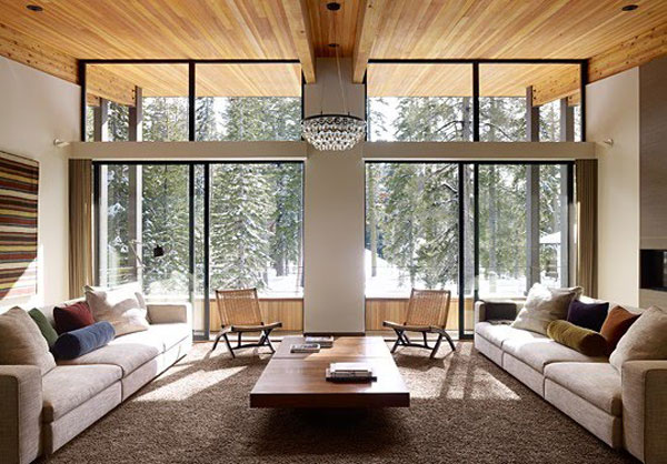 cool home1 Winter Dream Home in a Small Village in California: Sugarbowl Residence