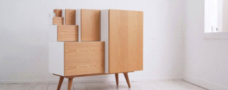 Cool Modular Shelving Inspired by Paper Sheets