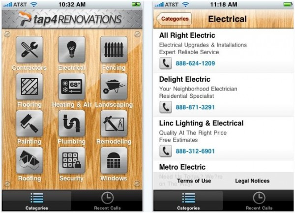 iphone tap4 e1288910773634 20 Best iPhone Home Improvement Apps to Help you Do it Yourself