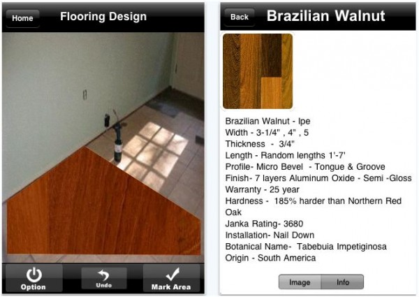 iphone woodfloor e1288917991305 20 Best iPhone Home Improvement Apps to Help you Do it Yourself