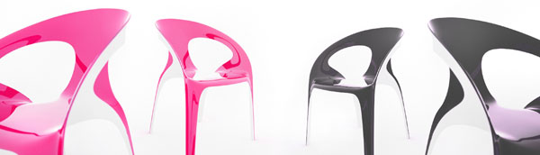 juicy chair Vivid and Colorful Stacking Chair Design: Juicy by Angelo Tomaiuolo