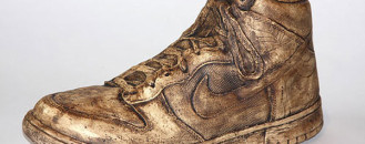 Nike Dunk Ceramic Sneakers, an Unusual Form of Modern Sculpture