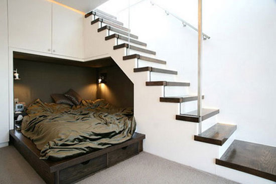 lepcsoalatt9 15 Elegant and Creative Ways to Maximize Space Under Your Stairs