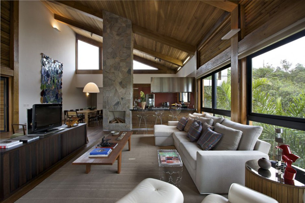 mh 121110 13 940x625 Diverse Mountain House with an Extreme Level of Comfort in Brazil