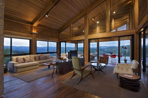 mh 121110 19 940x624 Diverse Mountain House with an Extreme Level of Comfort in Brazil