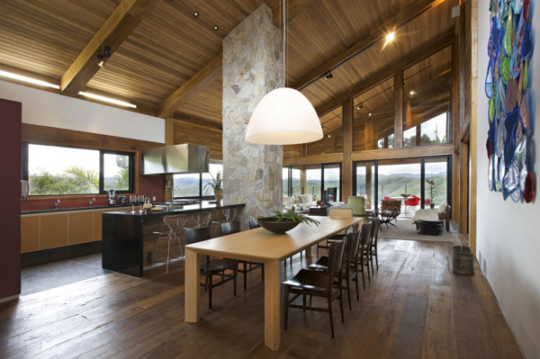 mh 121110 20 940x625 Diverse Mountain House with an Extreme Level of Comfort in Brazil