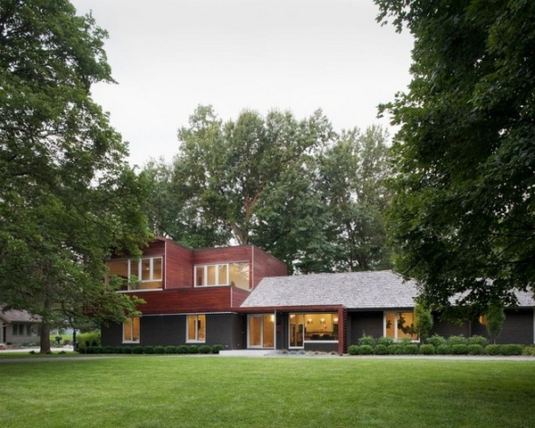 modern ranch 220210 04 Creative Renovation: Modern with a Side of Ranch by Hufft Projects