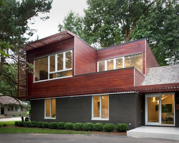 modern ranch 220210 05 Creative Renovation: Modern with a Side of Ranch by Hufft Projects
