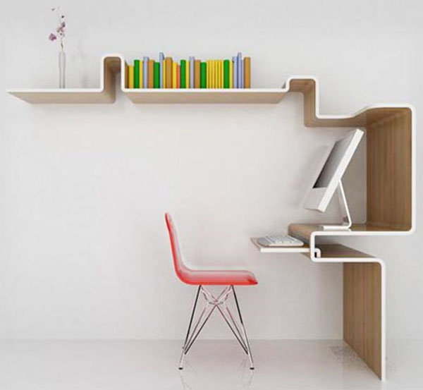 Oak Trendy White Desk Concepts Collect this idea