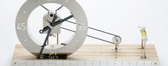Exquisite Gift : Clock for an Architect by Daniel Weil
