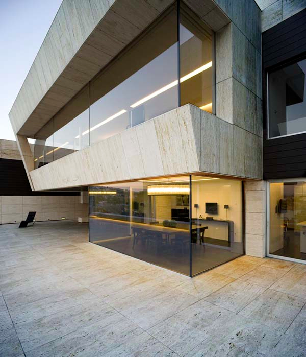 Galicia House by A cero 16 Impressive use of Space and Concrete in A ceros Galicia House