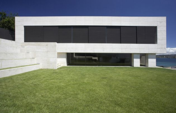 Galicia House by A cero 2 Impressive use of Space and Concrete in A ceros Galicia House