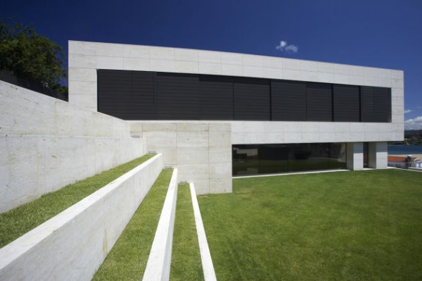 Galicia House by A cero 3 Impressive use of Space and Concrete in A ceros Galicia House