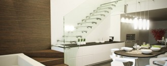 18 Select Ideas for Modern Indoor Stairs by Christian Siller
