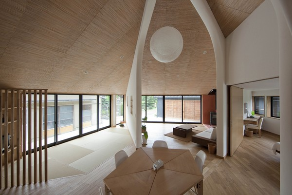 The Pentagonal House07.jpg A Tribute to Originality in Architecture: The Pentagonal House