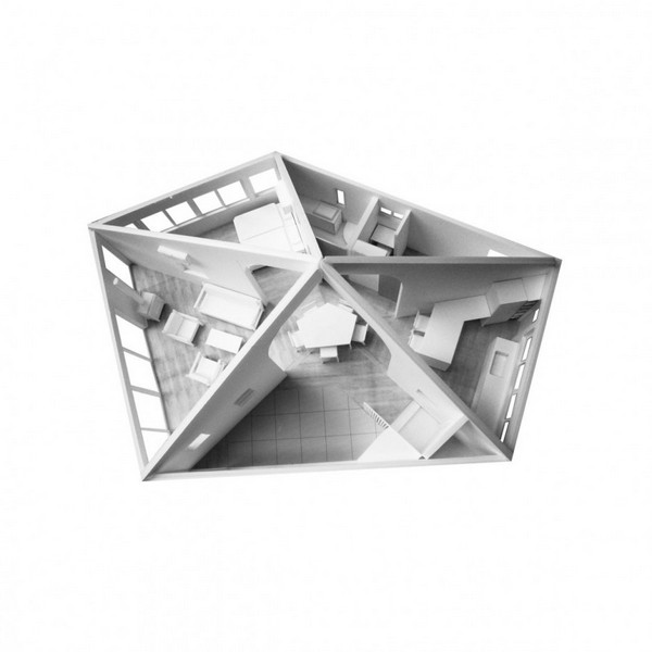 The Pentagonal House19.jpg A Tribute to Originality in Architecture: The Pentagonal House