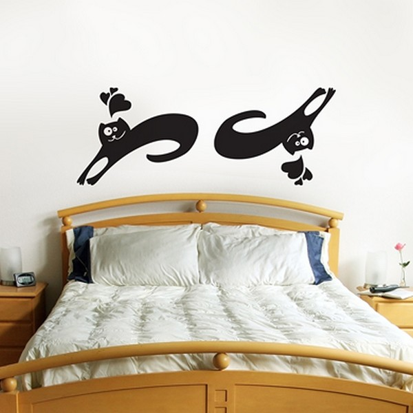 cats wallpaperFreshome03 Funny Vinyl Stickers for Crazy Cat Lovers