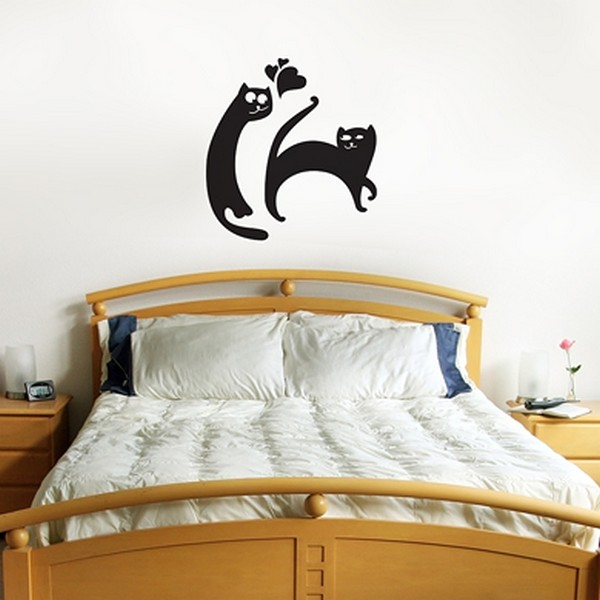 cats wallpaperFreshome04 Funny Vinyl Stickers for Crazy Cat Lovers