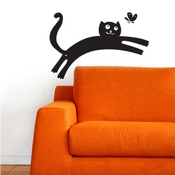 cats wallpaperfreshome09 funny vinyl stickers for crazy cat lovers