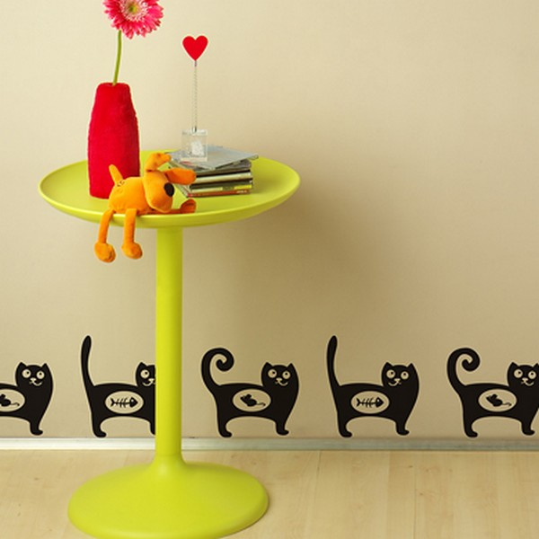 cats wallpaperfreshome10 funny vinyl stickers for crazy cat lovers