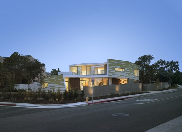 king 2 Creative and Sustainable Modern Home in Santa Monica: King Residence