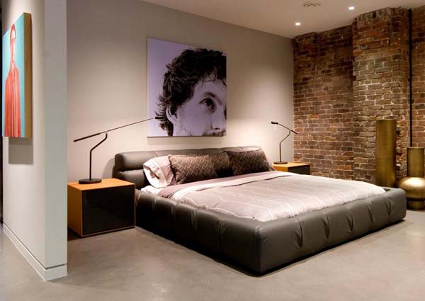 mainland street loft kelly reynolds 7 Contemporary Bachelor Pad with a Defining Mixture of Styles