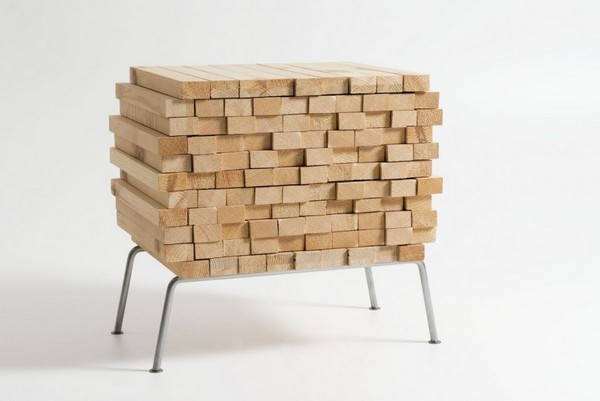 wh 011210 01 940x629 Storing Furniture in Secret: Wooden Heap by Boris Dennler