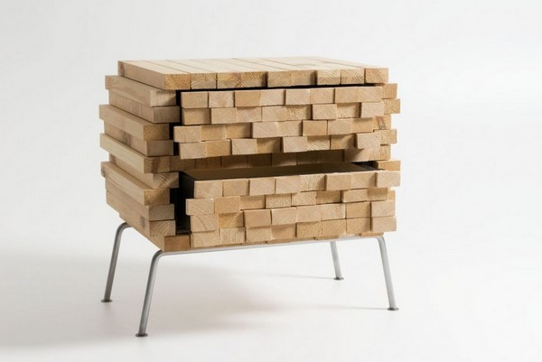 wh 011210 02 940x629 Storing Furniture in Secret: Wooden Heap by Boris Dennler