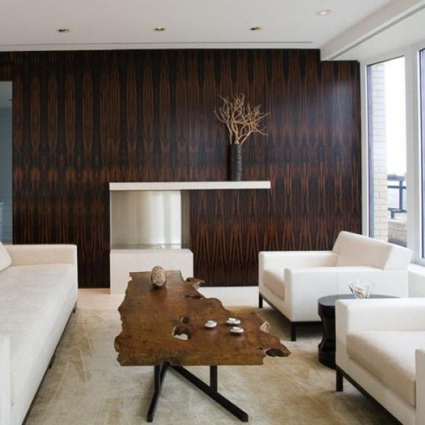Tin Accent Wall With Wood Trim: How To Make Wood Accents Beautify Your Home
