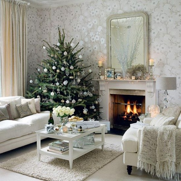 How To Arrange Your Room Around Your Christmas Tree Freshome Com
